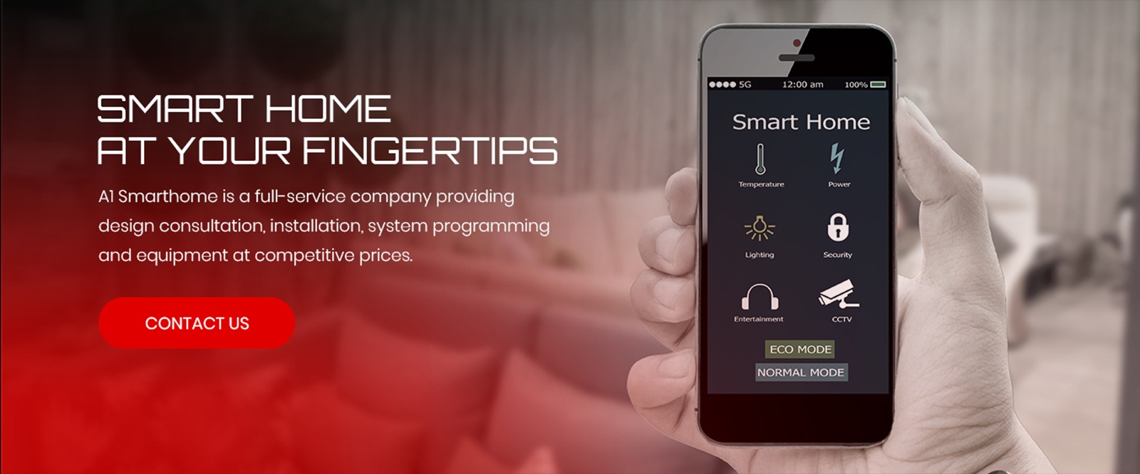 Smart Home at your fingertips